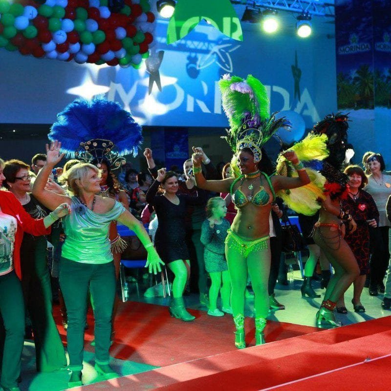 бразильское шоу в москве